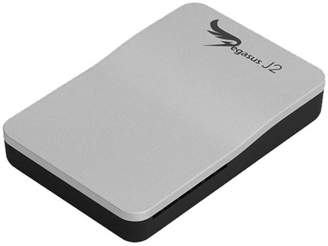 PROMISE Pegasus J2 J2256GB RAID 0/1, JBOD Thunderbolt Port Thunderbolt Storage Solution 256GB (2 x 128GB)