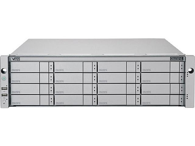 PROMISE VR2600FIDAGE 3U/16-bay Dual-Controller RAID Subsystem with 16x2TB NL SAS Drives