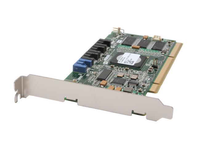 Adaptec RAID 2420SA 2169300-R SATAII PCI-X 4 ports Controller Card, Kit