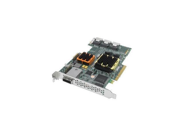 Adaptec RAID 52445 2258800-R SATA/SAS 28-port (24 internal,4 external) w/ 512MB cache memory Controller Card, Kit