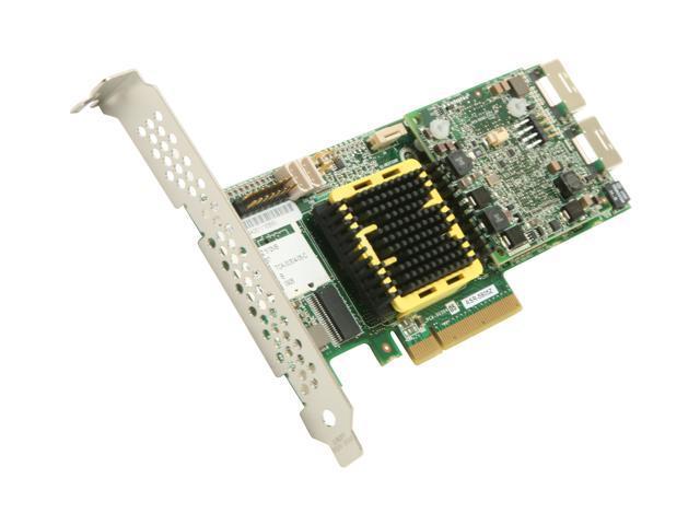 Adaptec RAID 5805Z 2266900-R SATA/SAS 8 internal ports w/ 512MB cache memory Controller Card