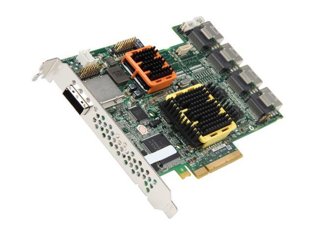 Adaptec 2258600-R PCI-Express x8 Serial ATA/300, Serial Attached SCSI 20-Port Serial ATA/SAS RAID Controler