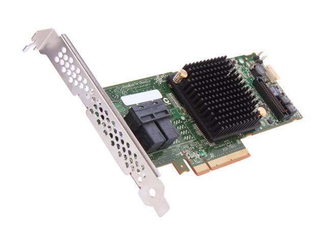 Adaptec 2274200-R 7805Kit PCI-Express 3.0 x8 Low Profile Ready SATA / SAS RAID Controller Card