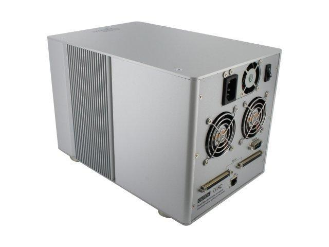 "SANS DIGITAL MR5S1 RAID 0, 1, 1+0, 3, 5, 6, JBOD 5 3.5"" Drive Bays SCSI Ultra 320 Mobile RAID Subsystem"