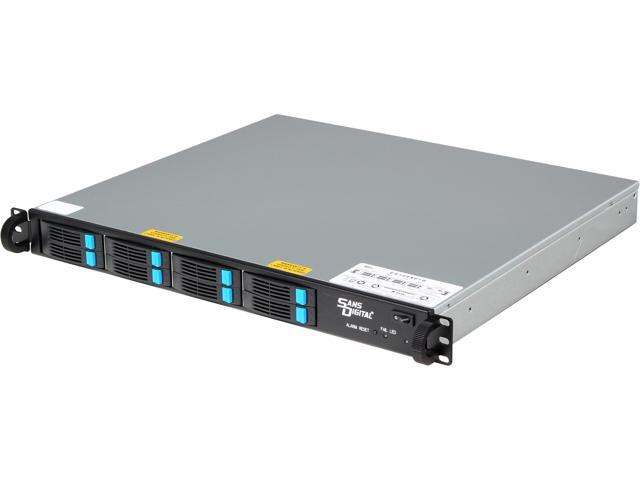 "SANS DIGITAL EliteSTOR ES108X6+B 1U 8 Bay 2.5"" 6G SAS/SATA to SAS JBOD with SAS Expander Rackmount"