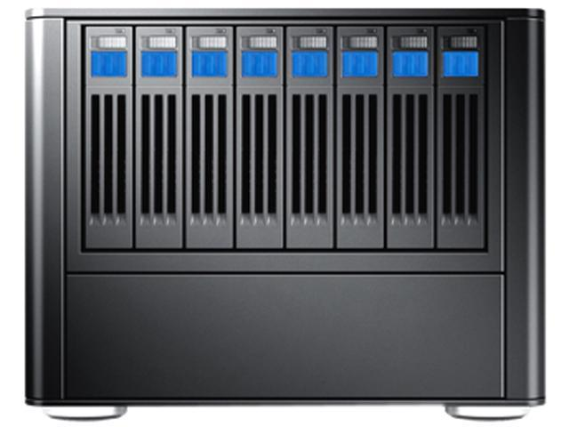 SANS DIGITAL MobileSTOR MS28X8E 8 Bay 2.5 tower SAS/SSD/SATA to mini-SAS Storage with 8TB(8x1TB) HD