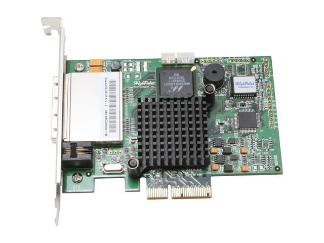 HighPoint RocketRAID 2322 PCI Express x4 compatible with (x8 and x16) interface SATA II (3.0Gb/s) Controller Card