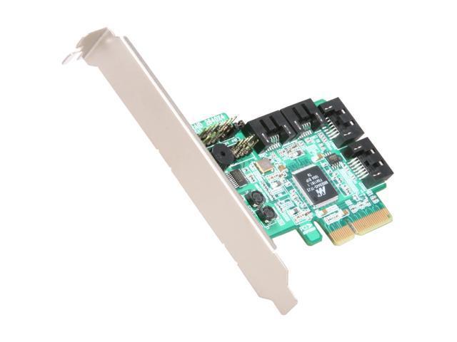 HighPoint RocketRAID 2640X4 PCI-Express x4 Four-Port SATA and SAS RAID Controller  Card