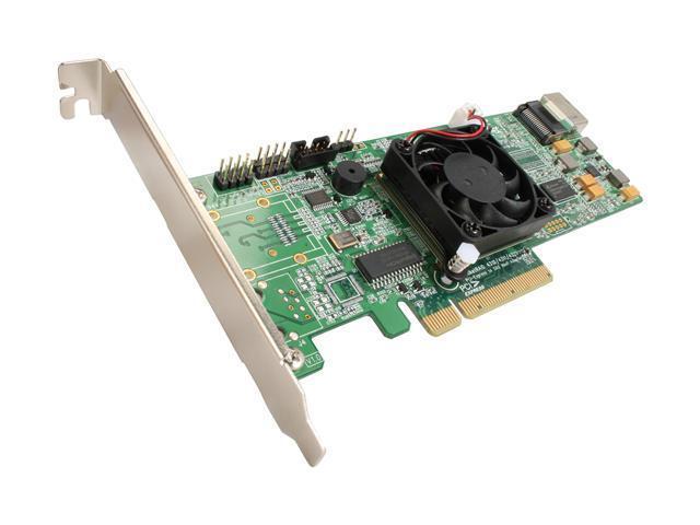 HighPoint RocketRAID 4310 PCI-Express x8 Four-Port SATA and SAS HARDWARE RAID Controller Card