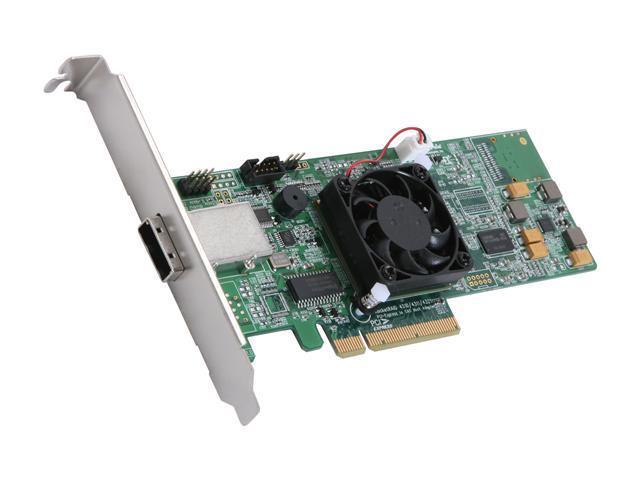 HighPoint RocketRAID 4311 PCI-Express x8 SATA / SAS Controller Card