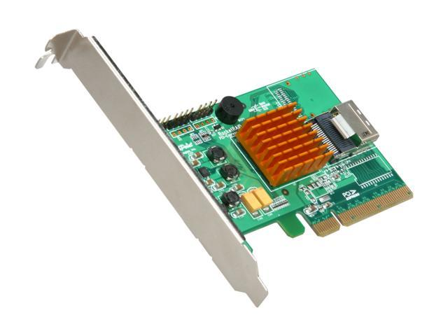 HighPoint RocketRAID 2710 PCI-Express 2.0 x8 Low Profile SATA / SAS RAID Controller Card