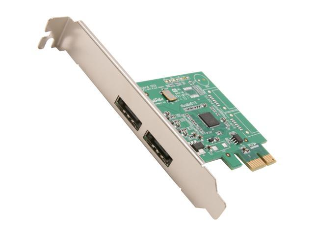 HighPoint RocketHybrid 1222 PCI-Express 2.0 x1 Low Profile Ready SATA III (6.0Gb/s) Controller Card