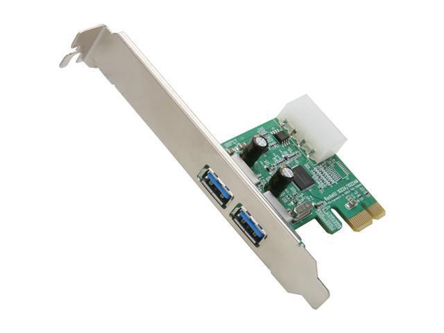 HighPoint RocketU 1022A PCI-Express 2.0 x1 USB 3.0 Controller Card
