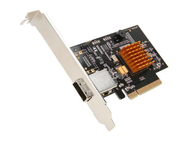 HighPoint RocketRAID 2711 PCI-Express 2.0 x8 Low Profile SATA / SAS RAID Controller Card