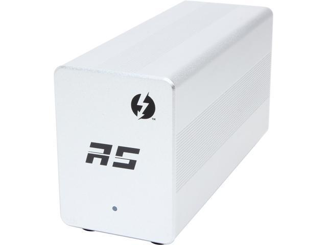 HighPoint RocketStor 6328 – Dual Thunderbolt 20Gb/s to 8x 6Gb/s SAS/SATA Hardware RAID Adapter