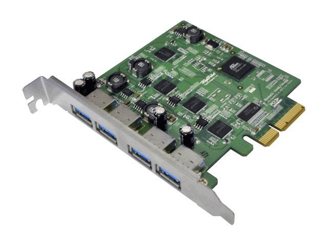 HighPoint RocketU 1144D PCI-Express 2.0 x4 4-Port USB 3.0 PCI-Express 2.0 x4 HBA