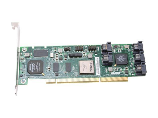 3ware 9550SX-8LP 64-bit/133MHz PCI-X SATA II (3.0Gb/s) Raid Controller Card