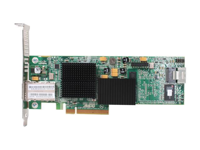3ware 9690SA-4I4E KIT PCI-Express x8 Serial Attached SCSI (SAS) Controller Card