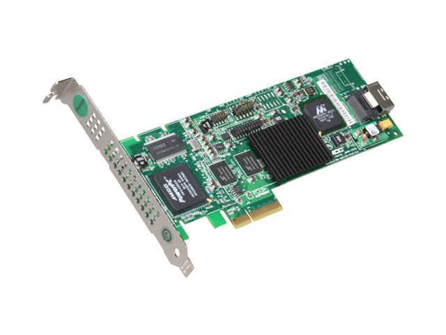 3ware 9650SE-4LPML SGL PCI Express  x4 SATA II (3.0Gb/s) Hardware RAID Controller Card, Integrator 1-Pack