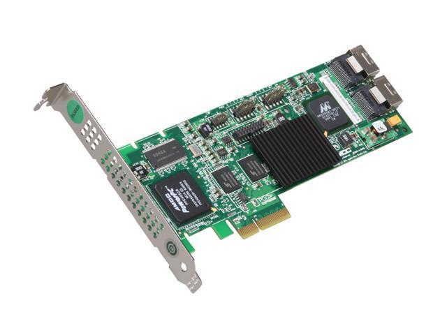 3ware 9650SE-8LPML SGL PCI-Express x4 SATA II (3.0Gb/s) Hardware RAID Controller Card, Integrator 1-Pack