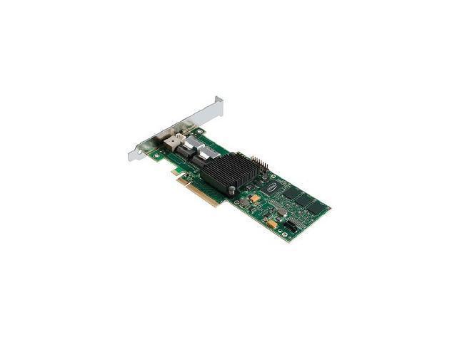 Intel RAID SAS/SATA 8 internal port w/ 256MB cache memory PCI-E x8 Controller Card (SRCSASBB8I)