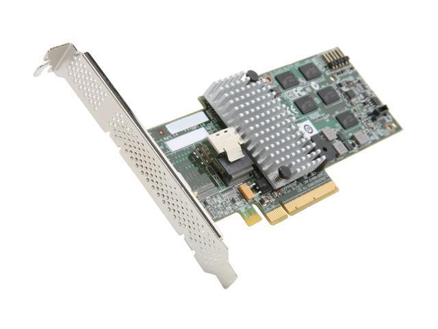 Intel RAID SAS/SATA 4 internal port w/ 512MB cache memory PCI-E 2.0 x8 Controller Card (RS2BL040)