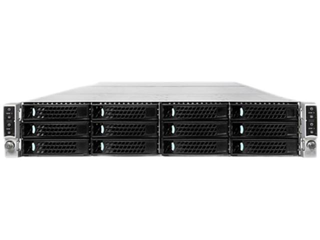 Intel H2312JFJR 2U Rack Server Barebone (Four Nodes) Dual LGA 2011 DDR3 1600/1333