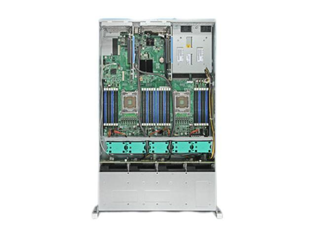 Intel R2208GZ4GC 2U Rack Server Barebone Dual LGA 2011 DDR3 1600/1333/1066