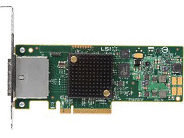 Intel RS25GB008 PCI-Express 2.0 x8 Low Profile SAS HBA Controller (No RAID)