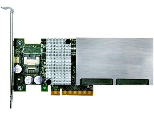 Intel RCS25ZB040LX PCI-Express 3.0 x8 Low Profile Ready SATA / SAS RAID SSD Cache Controller