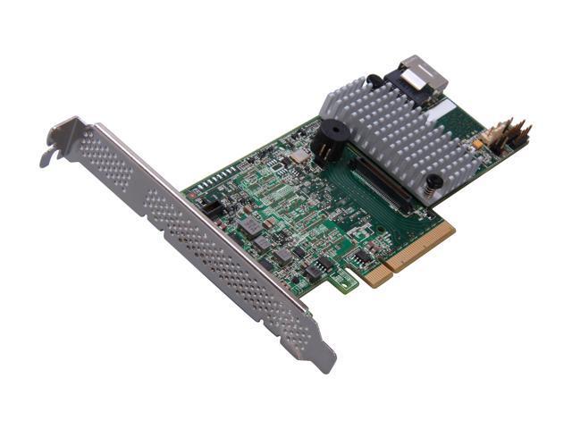 LSI MegaRAID LSI00329 (9271-4i) PCI-Express 3.0 x8 Low Profile SATA / SAS RAID Controller - Kit