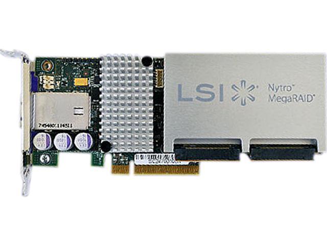 LSI Nytro MegaRAID LSI00395 (8110-4e) PCI-Express 3.0 x8 SATA / SAS Application Acceleration Card