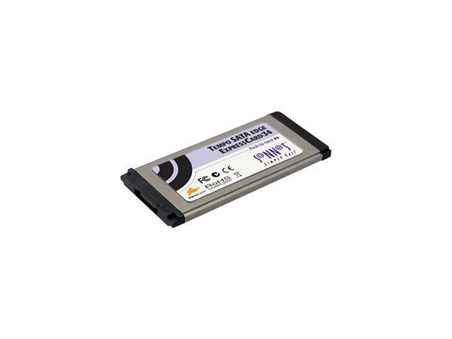 SoNNeT TSATAII-E1P-E34 ExpressCard/34 SATA II (3.0Gb/s) Tempo Edge SATA ExpressCard/34 1-Port