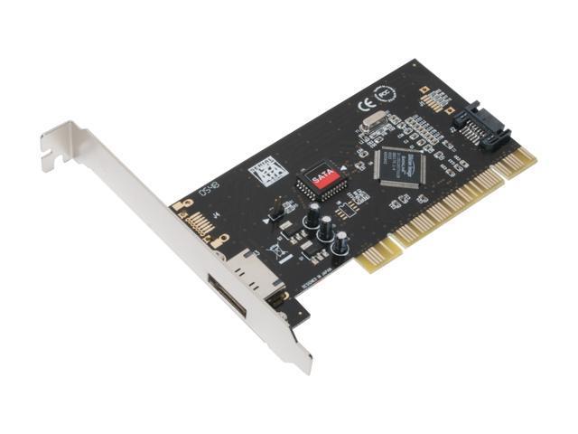 SYBA SD-SATA-1E1I PCI SATA Controller Card