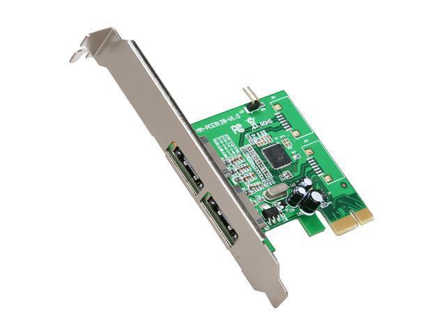 SYBA SY-PEX40033 PCI-Express 2.0 x1 SATA III (6.0Gb/s) RAID Controller Card