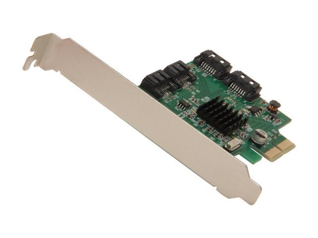 SYBA SI-PEX40057 PCI-Express 2.0 x2 Low Profile SATA III (6.0Gb/s) 4-ports RAID Card