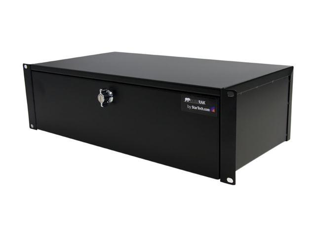 StarTech SH39LK 3U 9in Deep Rack Mount Locking Storage Drawer