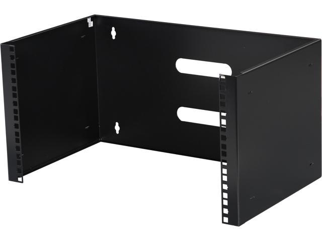 StarTech WALLMOUNT6 6U 12in Deep Wall Mounting Bracket for Patch Panel