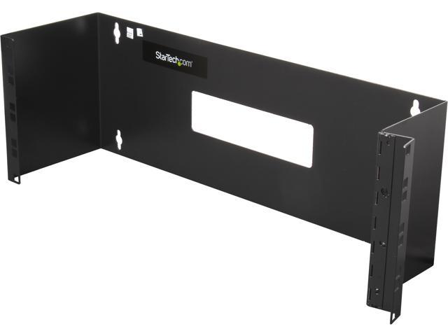 StarTech WALLMOUNTH4 4U 19in Hinged Wall Mounting Bracket for Patch Panels