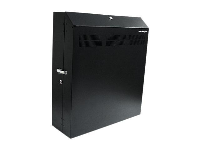 StarTech RK419WALVS 4U 19in Secure Horizontal Wall Mountable Server Rack