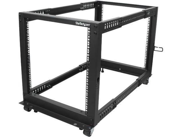 Startech Com 12u Adjustable Depth Open Frame 4 Post Server