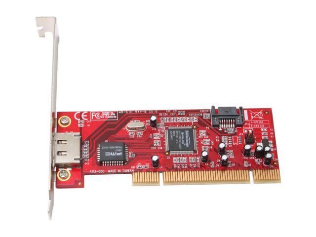 Rosewill RC-210 Silicon Image Internal SATA / External eSATA Low Profile Ready PCI Controller Card