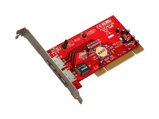 Rosewill RC-221 PCI Low Profile Ready SATA Controller Card