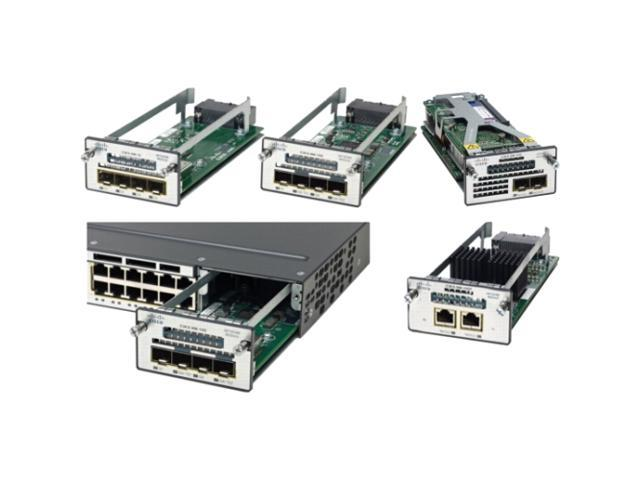 Cisco C3KX-SM-10G= Two 10GbE SFP+ ports service module for Cisco Catalyst 3560-X and 3750-X