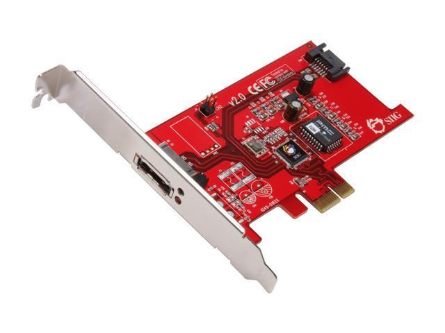 SIIG SC-SAE212-S2 PCI Express x1 SATA II (3.0Gb/s) Controller Card