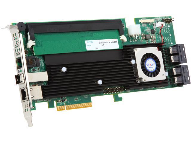 areca ARC-1883ix-16-2G PCI-Express 3.0 x8 SAS RAID Adapter