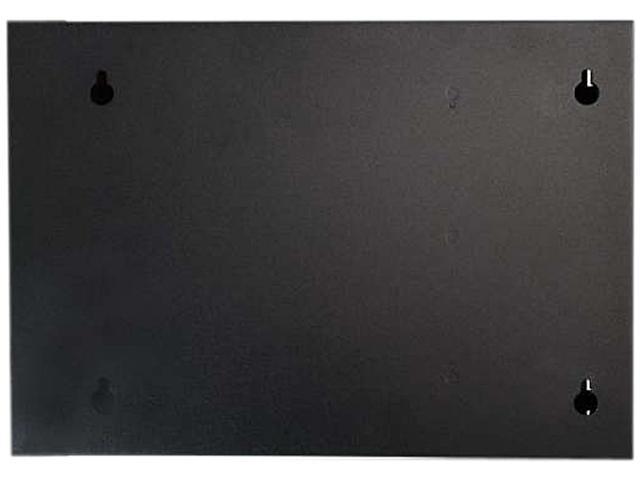 C2G Q Series 39106 2-Panel Wallmount Box Rack Cabinet