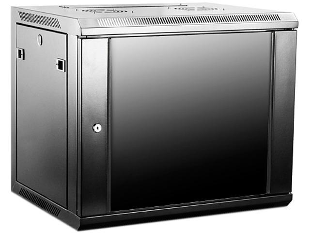 Istarusa wm945b 9u 450mm depth wallmount server cabinet for Kitchen cabinets 450mm depth