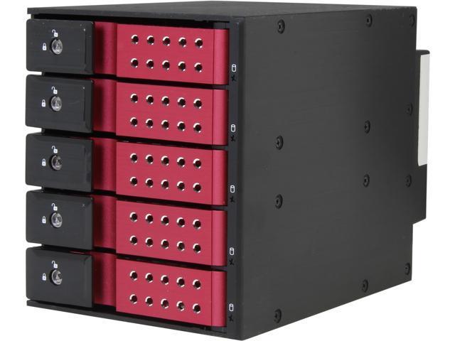 iStarUSA BPN-DE350SS-RED 3 x 5.25