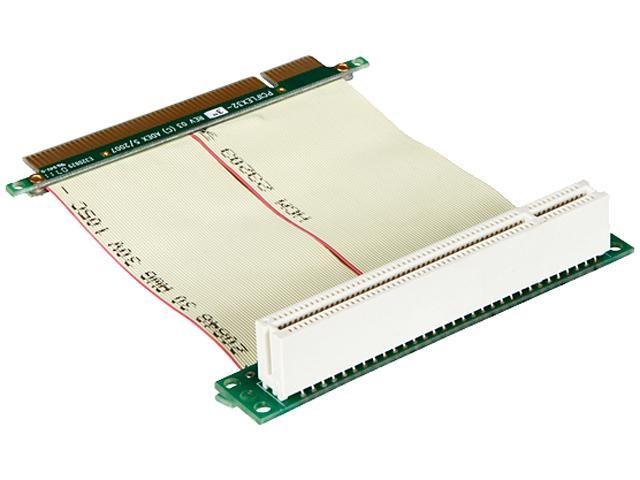 iStarUSA DD-711R-C5-02 PCI to PCI Reversed Riser Card with 5cm Ribbon Cable
